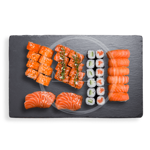 Foto Salmon Lovers Box, 40 stuks